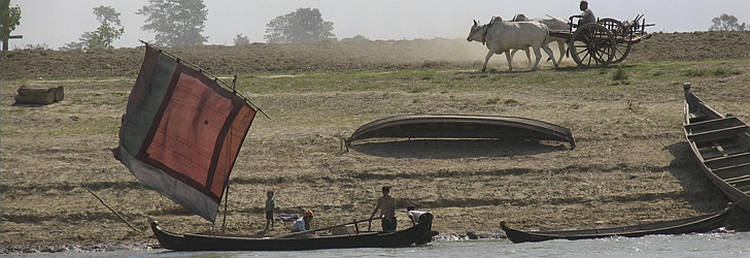 The Banks of the Irrawaddy - by Dean Harden