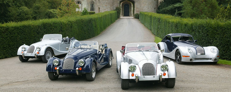 That quintessentially British sports car - The Morgan
