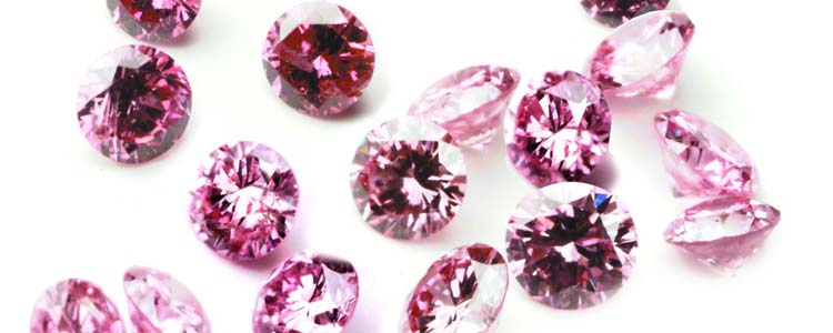 Pink Diamonds from Argyle Mining