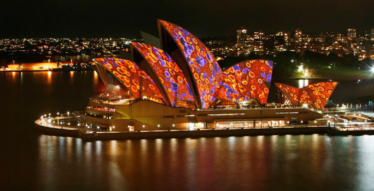 Opera House Vandalism - but it can be switched off